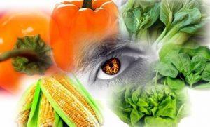 alimente pentru miopie