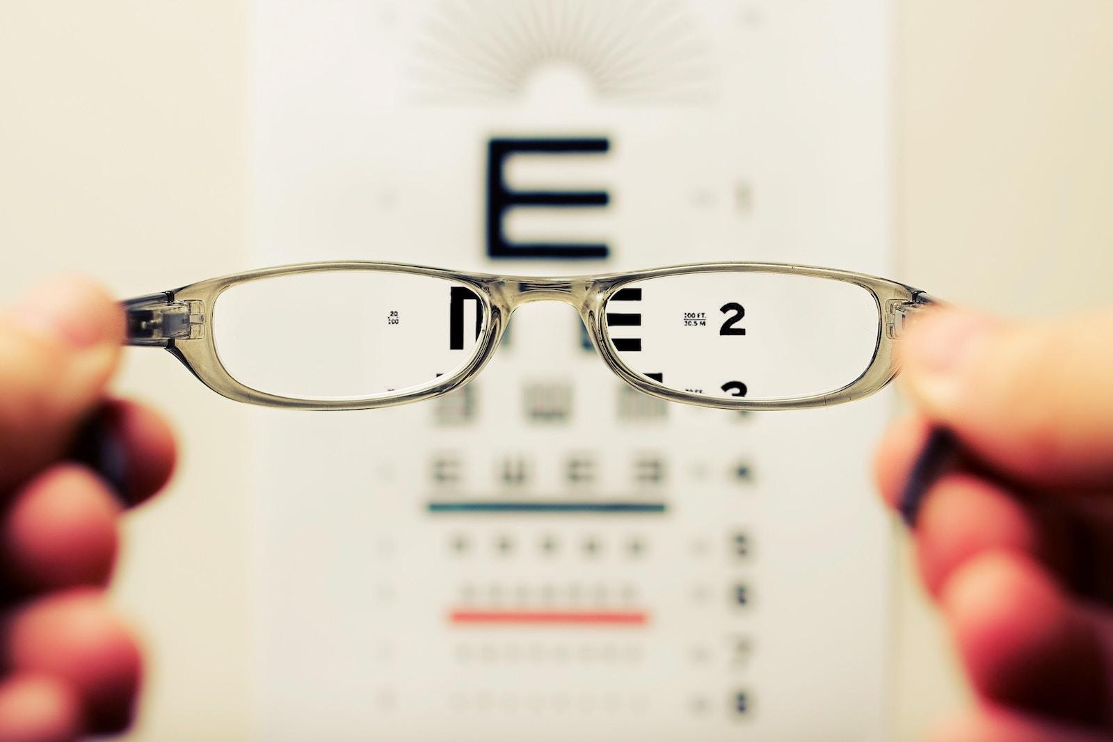 ochelarii afectează vederea