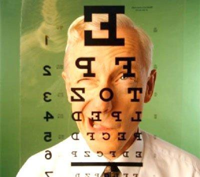 Nu văd masa de testare a ochilor timpul pentru a îmbunătăți vederea