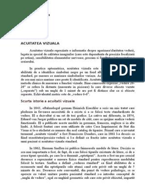 Ce este acuitatea vizuala? - Blog de optica medicala   limuzinedeinchiriat.ro