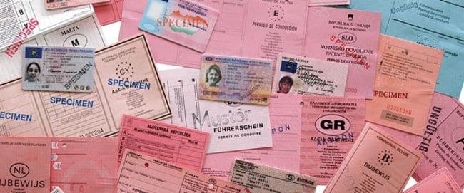 Limitarea vederii pentru a obține permisul de conducere