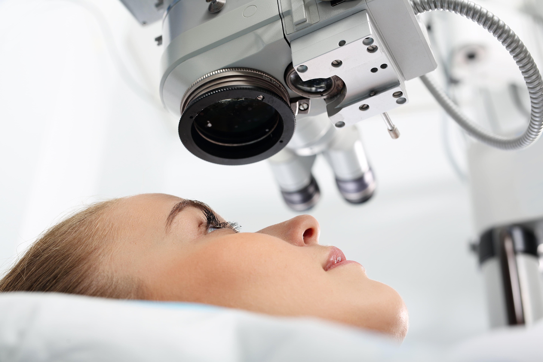 operație pentru restabilirea consecințelor vederii