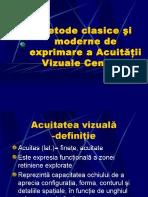 acuitatea vizuală 0 07 alge marine pentru viziune
