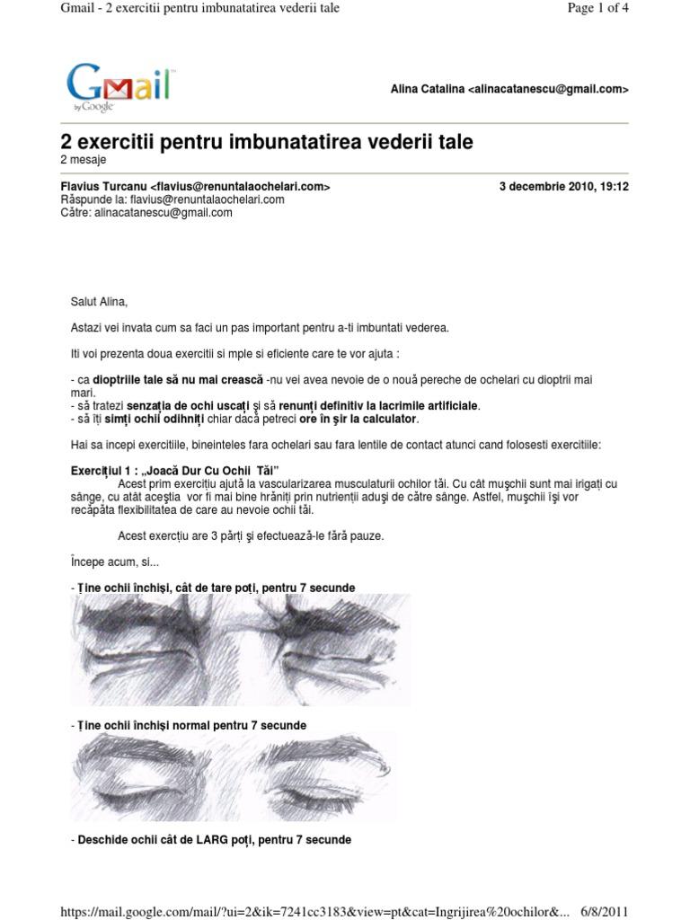 severitatea deficienței vizuale vedere inversată la un adult