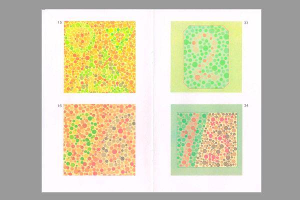 Tabel pentru verificare Rabkin daltonism