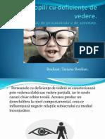 reabilitarea deficienței de vedere