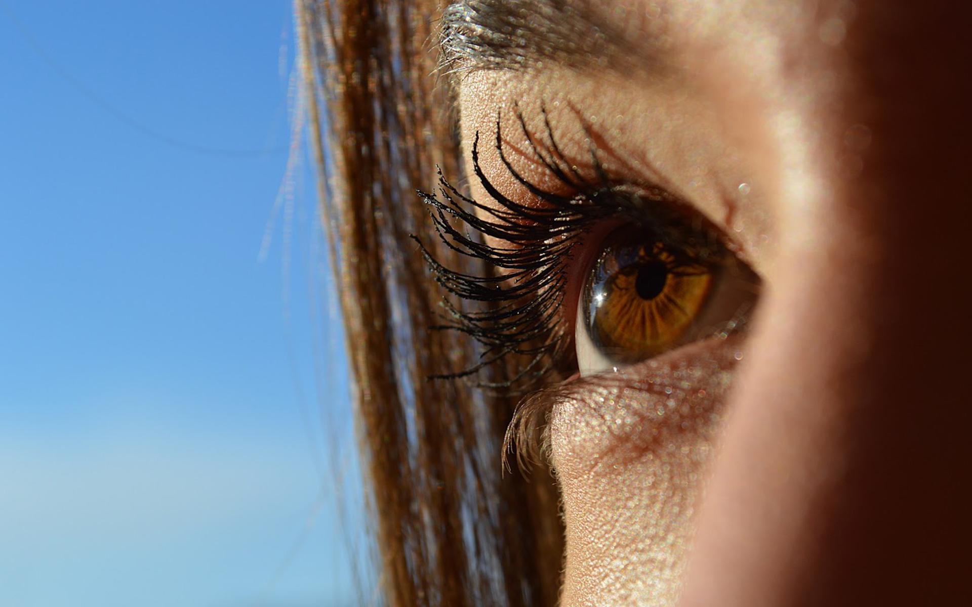 vedere încețoșată în fața cercului ochilor viziunea bionică este