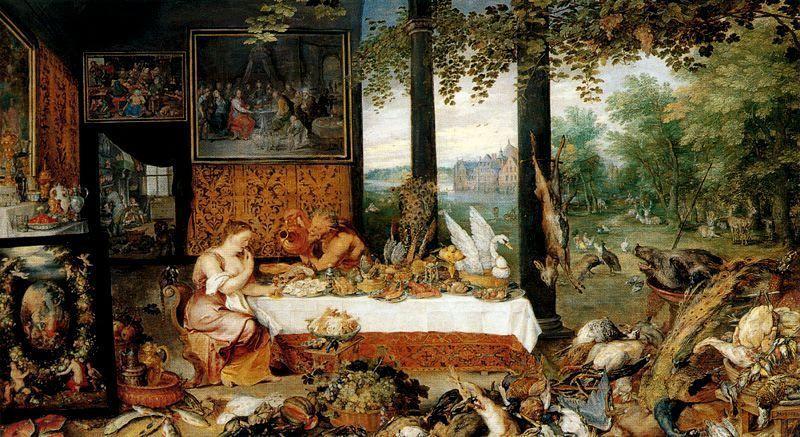 Alegorie de vedere jan brueghel cel mai în vârstă