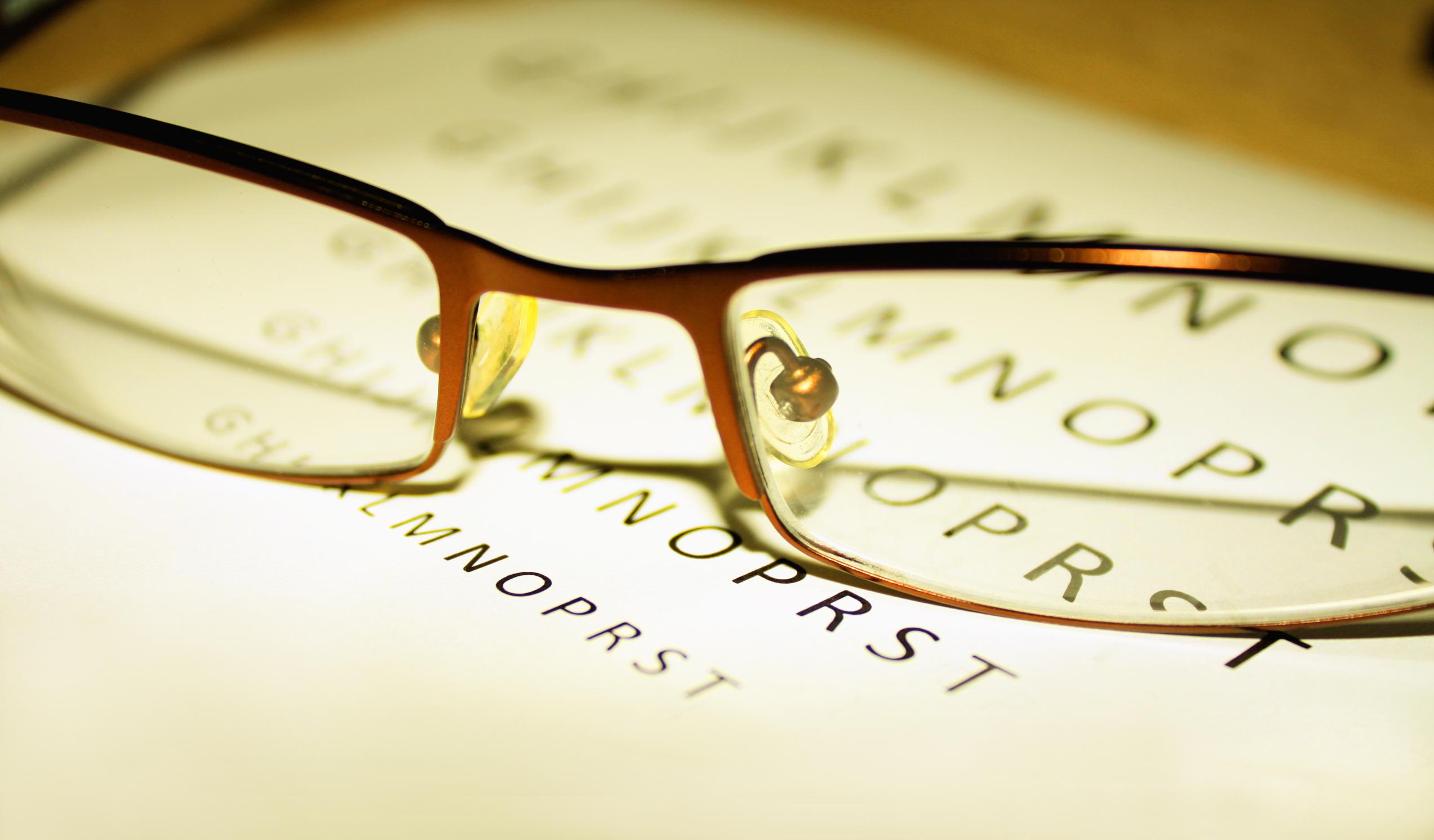 standarde pentru testarea vederii