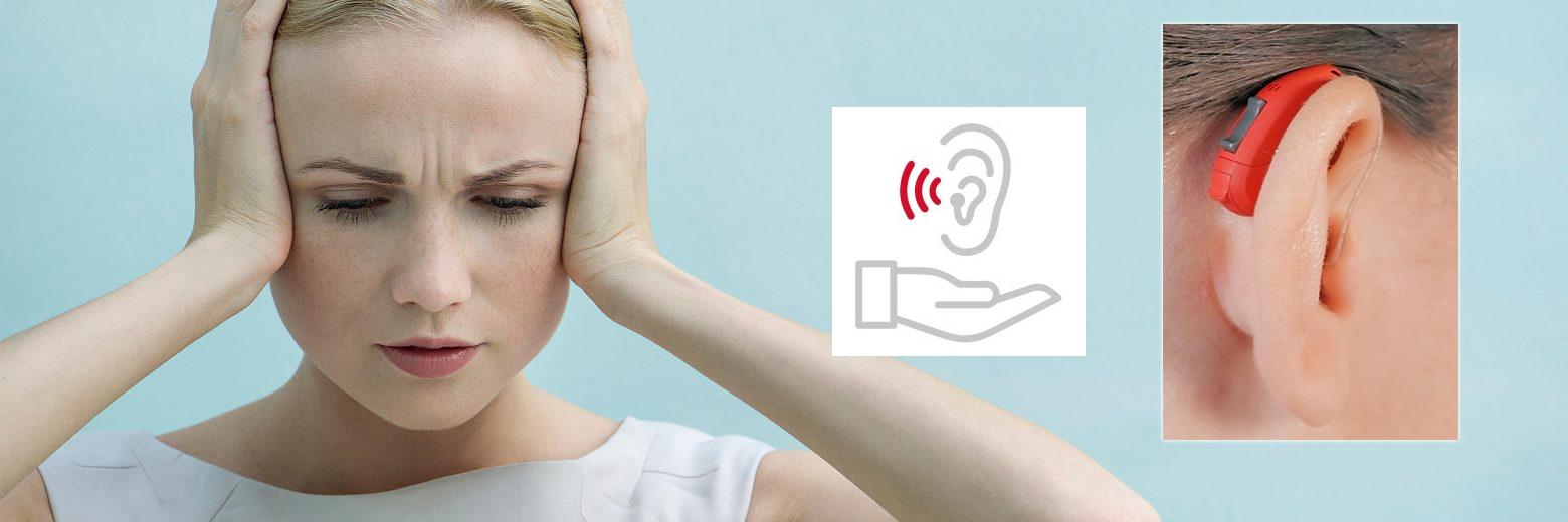 Scaderea auzului (hipoacuzia)