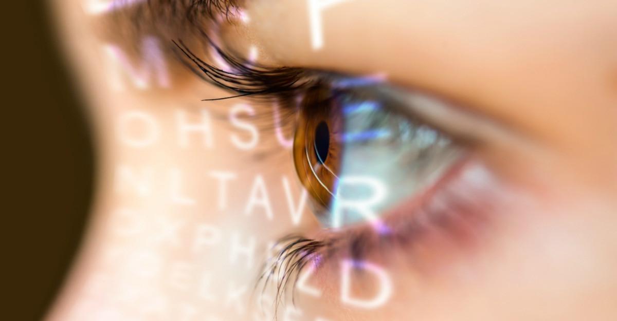pata oarbă în viziunea umană viziunea unui ochi a scăzut cu 50