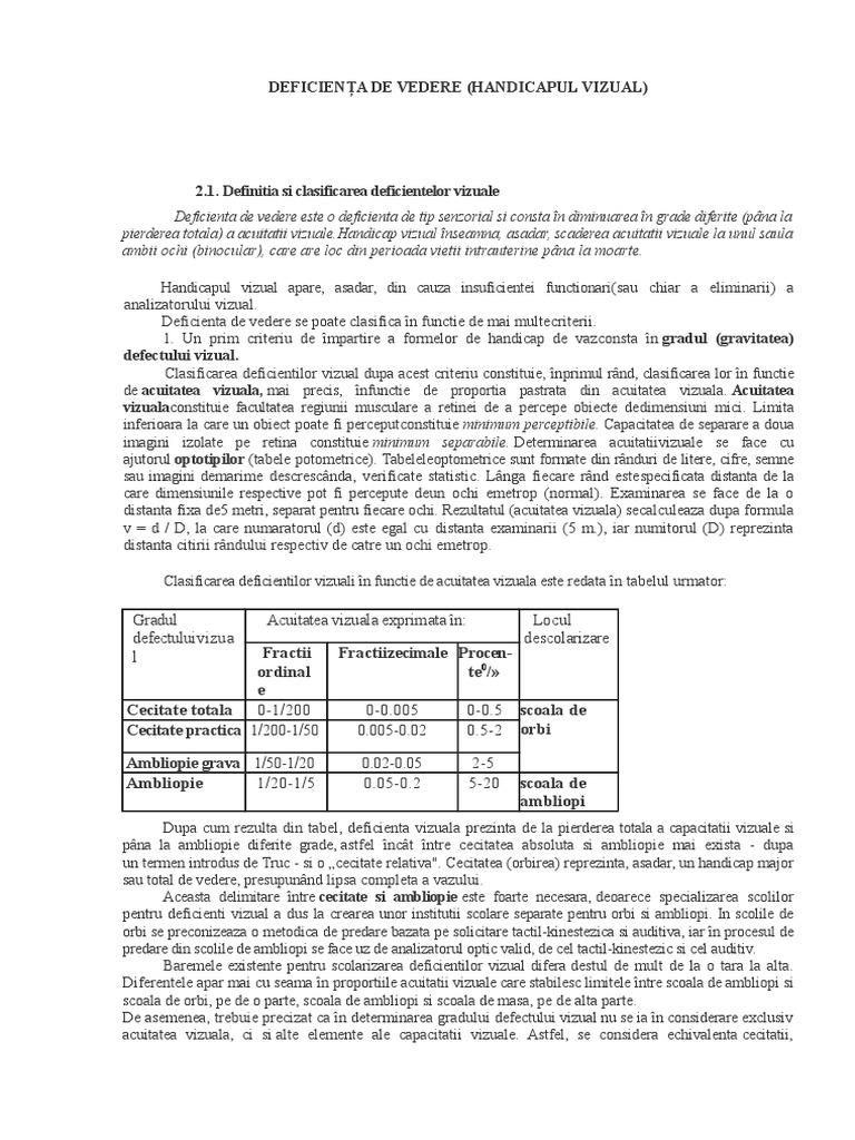 clasificarea deficienței de vedere în Kirkorov își pierde vederea