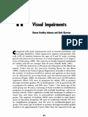 concept de deficiență de vedere ce dezvoltă miopia