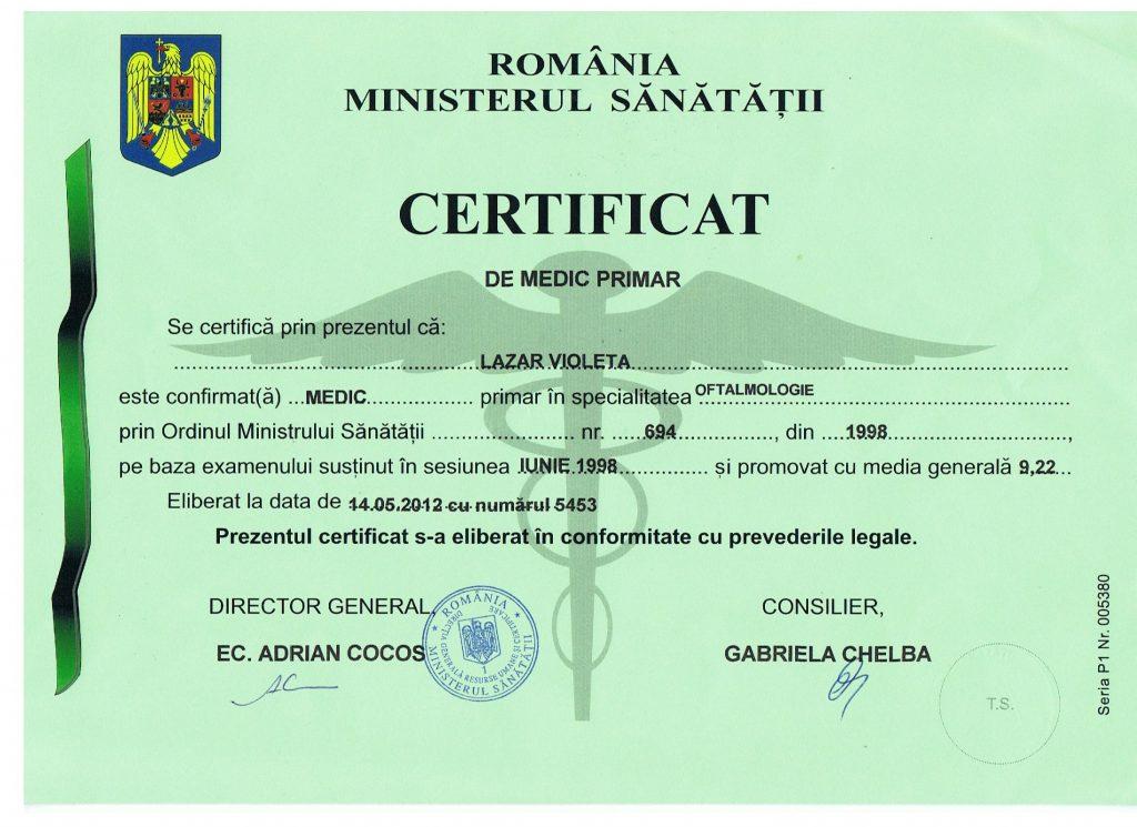 Clinica Oftalmologica Bucuresti