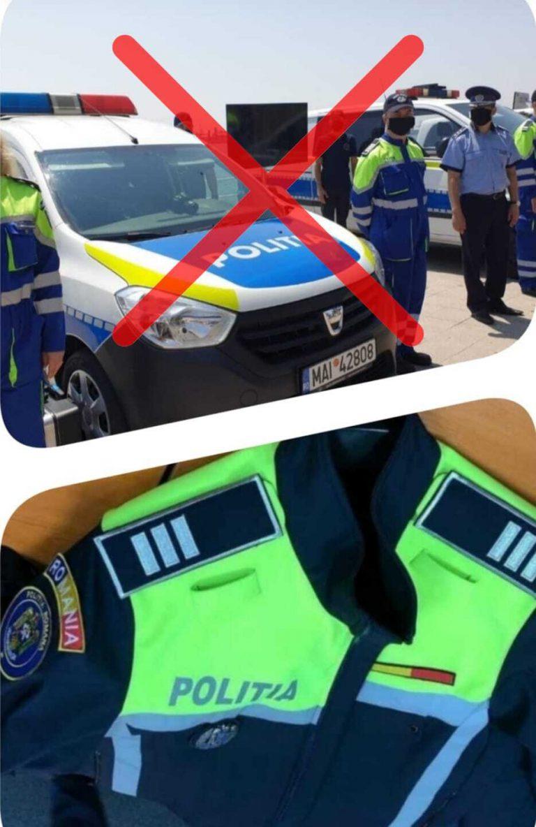 în poliție cu vedere slabă