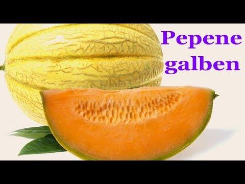 pepenele galben îmbunătățește vederea