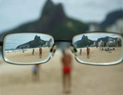 picura miopie pentru produsele de viziune