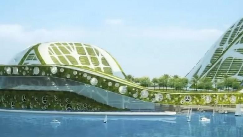 test de viziune pe stadionul de apă