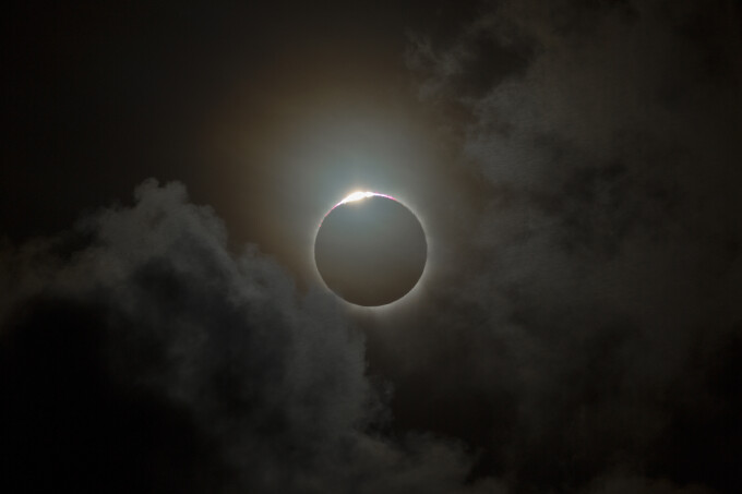 efectul eclipsei asupra vederii pentru viziunea viziunilor