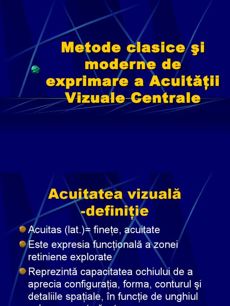 exerciții pentru acuitatea vizuală după operație