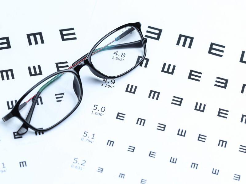 examen pentru miopie