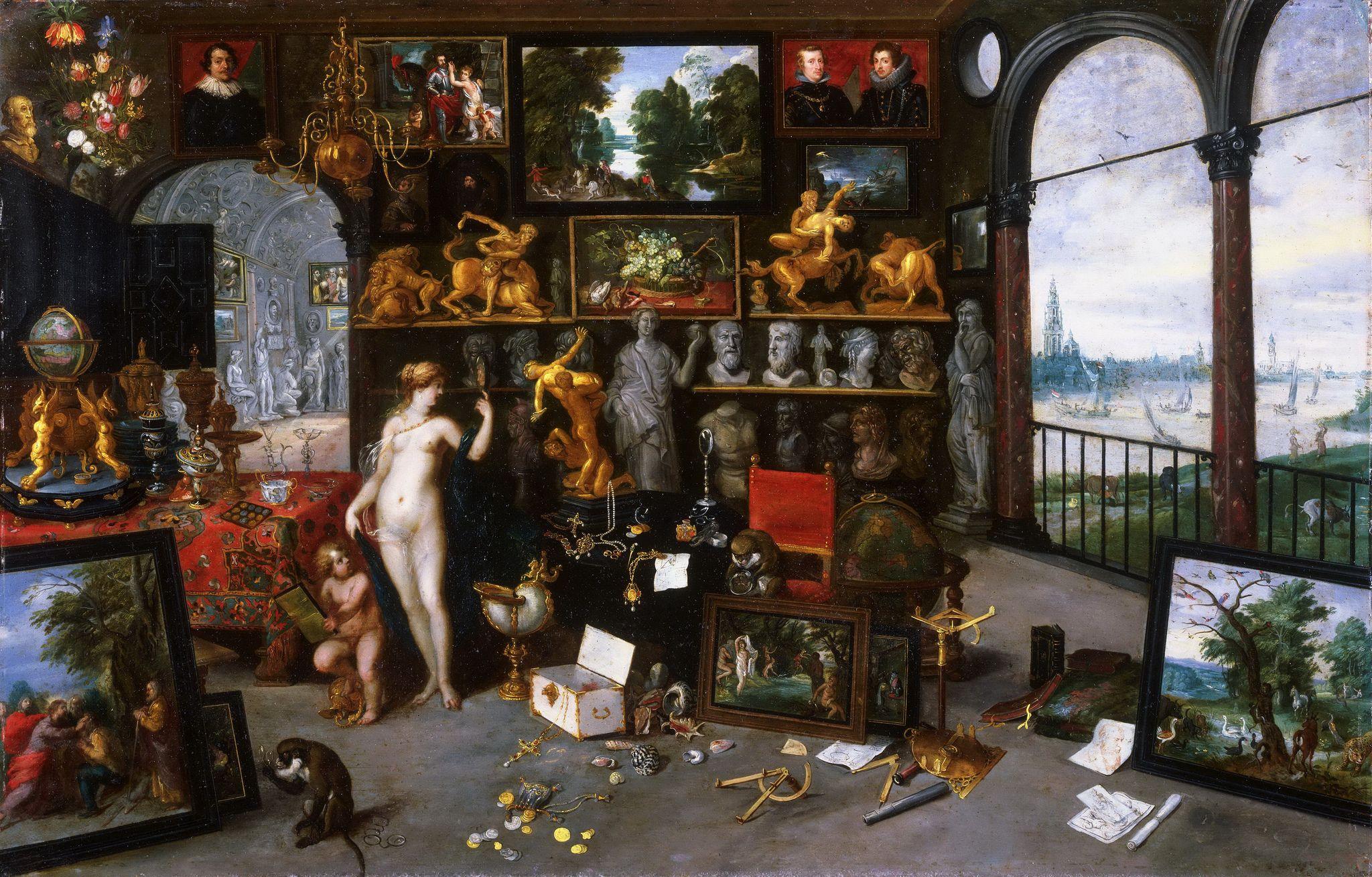 Alegoria Bruegel a vederii
