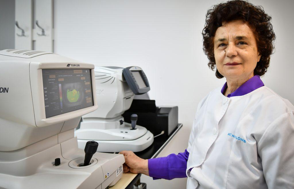 echipament pentru sala de diagnosticare oftalmolog citirea vederii încețoșate