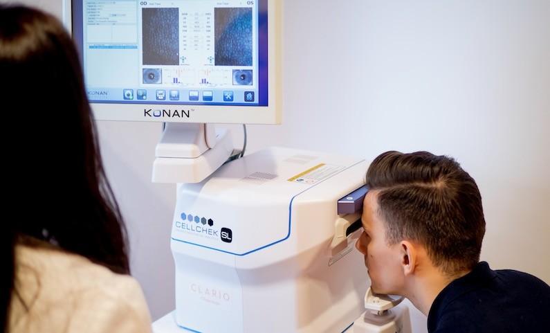 echipament pentru sala de diagnosticare oftalmolog cum să îmbunătățiți palmarea vederii